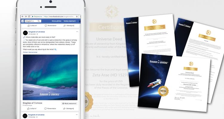 kingdom of universe kou kingdom shop ecommerce adstone sklep facebok case study